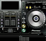 DJ software equipment